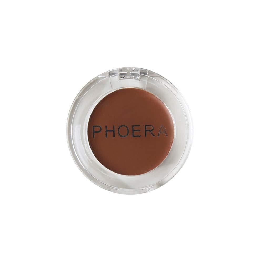 Celendi-Makeup Concealer PHOERA Face Moisturizing Makeup Concealer Foundation Palette Creamy (A) CMY-9988