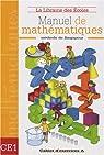 Manuel de mathématiques CE1 : Cahier d'exercices A par Paillard