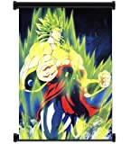 Dragon Ball Z Anime Broly Fabric Wall Scroll Poster (16x21) Inches. [WP]DragonBallZ-46
