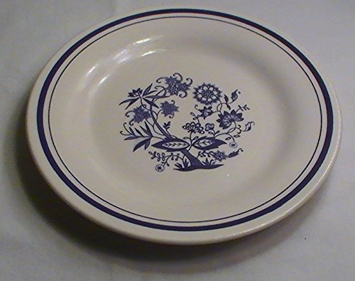 Oxford Brazil Blue Onion Salad Plates - Set of 4