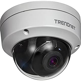 TRENDnet Indoor/Outdoor 4 Megapixel HD PoE IR Dome Style Day/Night Network Camera, TV-IP315PI, Digital WDR, 2688 x 1520p, IK10 Vandal Proof, IP66 Rated Housing, 100ft. Night Vision, ONVIF, IPv6