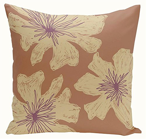 Square Pillow with Sewn Closure (16 in. L x 16 in. W)