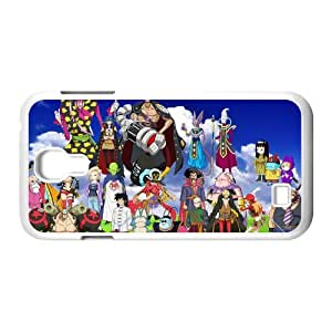 Japanese anime tv series DBZ,Dragon Ball Z,Son Goku Personalized Samsung Galaxy S4 I9500 Hard Plastic Shell Case Cover White&Black(HD image)
