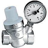 Thermador R53315M Réducteur de pression 1/2 avec manomètre