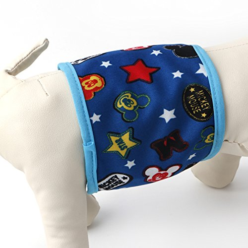 Zadaro Pet Male dogs Diaper Pant Clothing Physiological Pant Beathable Cotton (XS)