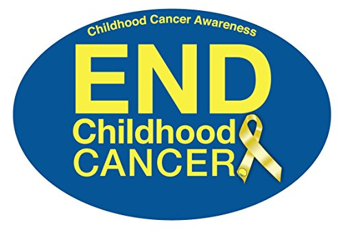Alex Lemonade Stand (Childhood Cancer Awareness Car Magnet)