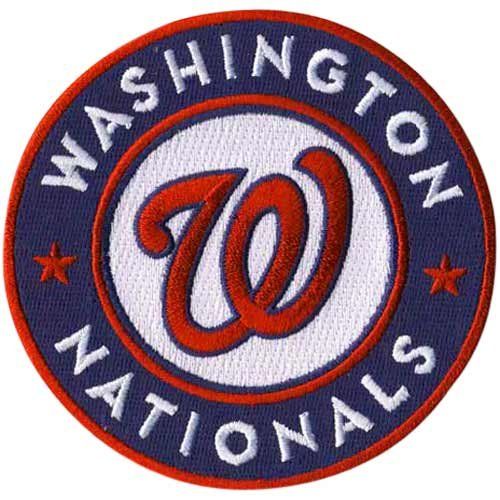 (MLB Washington Nationals Embroidered Team Logo Collectible Patch)