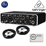 Behringer U-PHORIA UMC202HD - USB 2.0 Audio Interface w/2 x 20ft Structure XLR