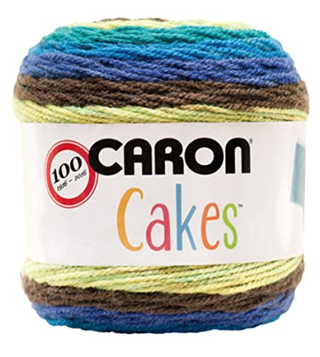 Caron Cakes Self Striping Yarn 383 yd 200 g (Gelato)