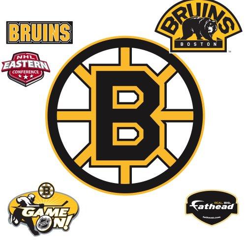 NHL Boston Bruins Logo Wall Decal
