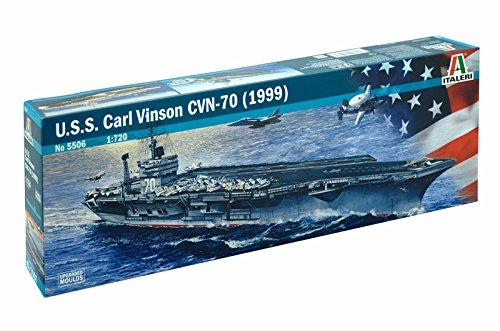 Italeri 1:720 Uss Carl Vinson Cvn-70