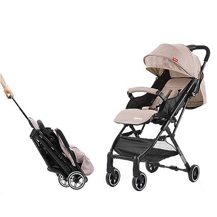 QILEGN Carrito de bebé Carro para bebé Se Puede sentar y ...