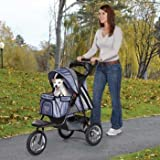 Sprinter EXT II Dog Stroller Color: Sage Green, My Pet Supplies