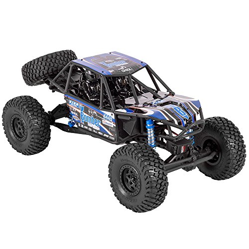 Axial RR10 Bomber 4WD RC Rock Racer Off-Road 4x4 Electric RTR with 2.4GHz Radio and Waterproof ESC, 1/10 Scale
