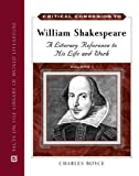 img - for Critical Companion to William Shakespeare: A Literary Reference to His Life and Work book / textbook / text book