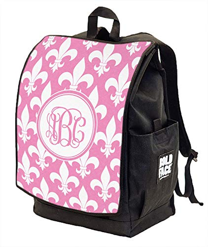 Fleur De Lis Backpack w/Front Flap (Personalized) ()