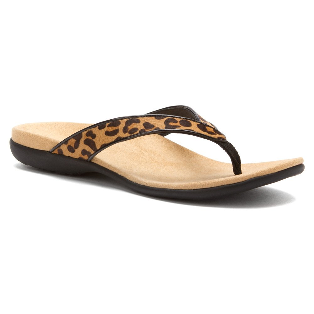 5bfddb4088bb Vionic with Orthaheel Technology Womens Selena Sandal Tan Leopard Size 11  UK Size : 9: Amazon.co.uk: Shoes & Bags