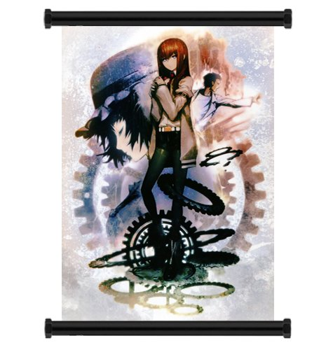 Steins; Gate Anime Fabric Wall Scroll Poster  Inches