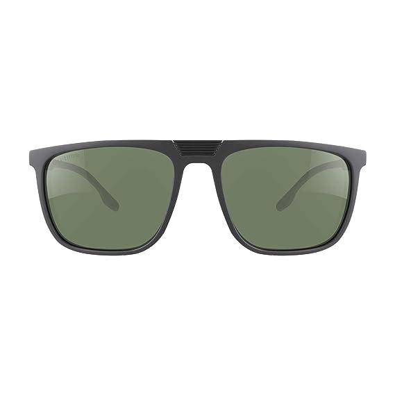 Eli-time Gafas de sol polarizadas con montura rectangular rectangular TR-90 para hombres y mujeres Protección UV400 ET19013