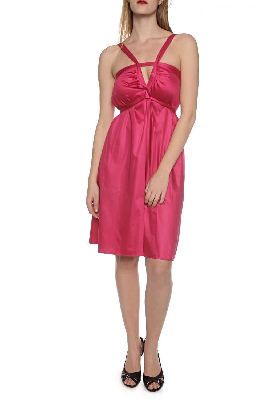 hugo boss orange damen kleid sommerkleid andi farbe pink online bestellen. Black Bedroom Furniture Sets. Home Design Ideas