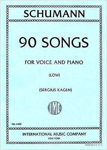 Schumann 90 Songs
