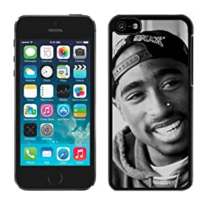 Tupac Shakur (2) Black iPhone 5C Screen Phone Case Unique and Fashion Design