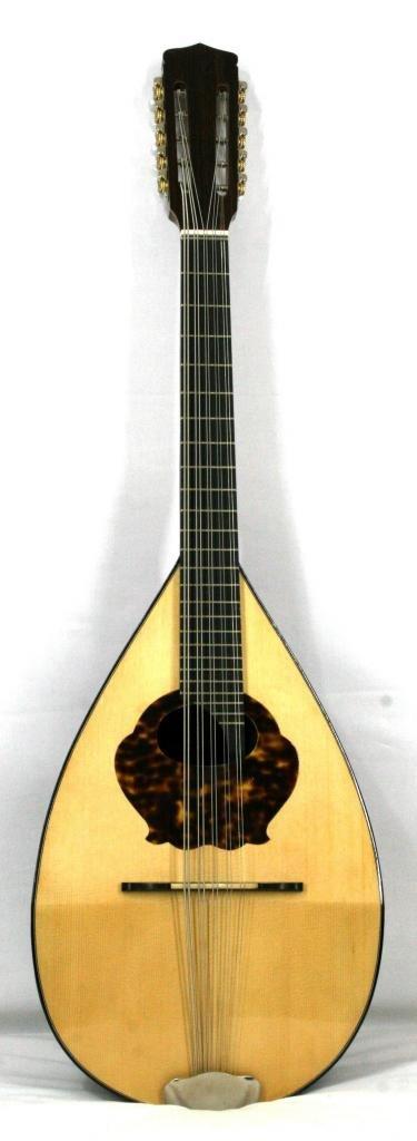 'Musikalia Laute Cantabile Typ Embergher 5Saiten doppelt, elektrifiziert, aus Palisander, mit Schlagschutz verziert, von Geigenbauer 619 MP els