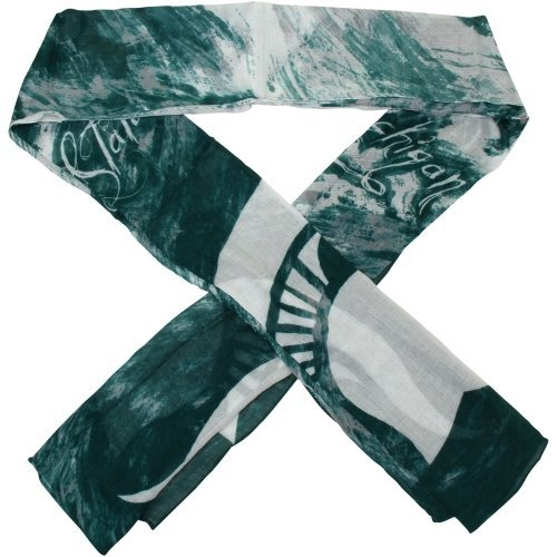 Michigan State Spartans Watercolor Scarf One-Size-Fits-Most by Emerson Street