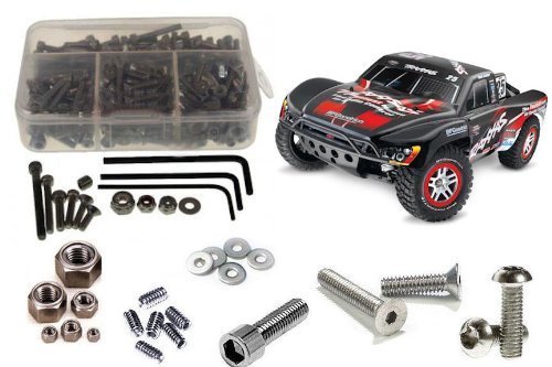 RC Screwz Traxxas Slash 4x4 Stainless Steel Screw (Stainless Screw Kit)