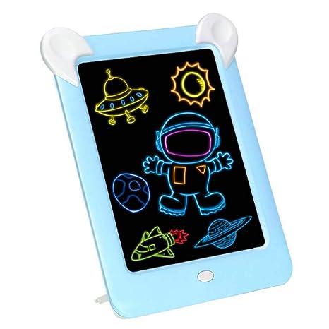 TENLSO 3D - Tableta de Escritura LCD con luz, Pizarra mágica ...