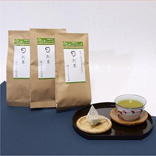 てらさわ茶舗 粉茶ティーバッグ 知覧茶 鹿児島茶の粉茶 2.5g×40袋×3袋セット