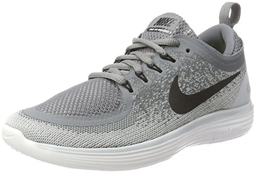 NIKE Women's Free Rn Distance 2 Cool Grey/Black Wolf Grey Running Shoe 6 Women US