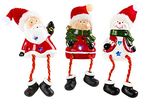 Pacific Accents Holiday Friends Figurine Set