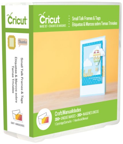 Cricut 2002240 Talk Frames and Tags Cartridge for Artwork, Small by Cricut