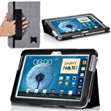 MoKo Slim Cover Case for Samsung Galaxy Note 10.1-Inch N8000 N8010 N8013 Tablet-Black