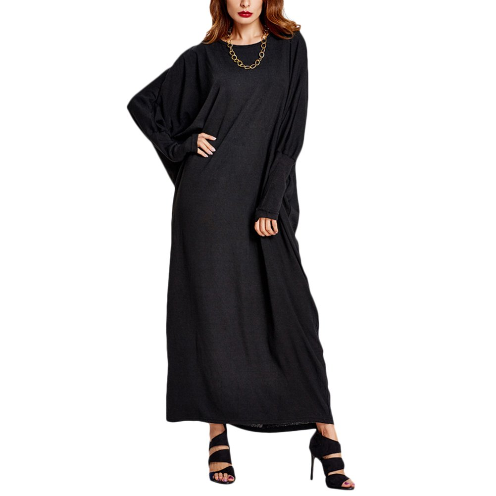 Zhuhaijq Dubai Maxi Long Dress Women Clothing Baggy Style Gown Ladies Dress
