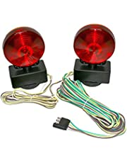 MaxxHaul 80778 Magnetic Towing Light Kit (Dual Sided for RV, Boat, Trailer and More DOT Approved), 1 Pack
