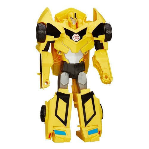 Hasbro Transformers B0897ES0 - Robots in disguise 3-Step Changer Bumblebee, Actionfigur