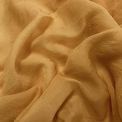 Crinkle Crush Sheer Voile Fabric 118