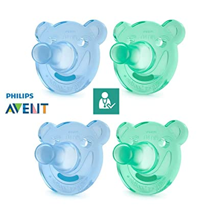 Philips AVENT Chupetes soothie//A Partir de 3 meses//Talla 2 ...