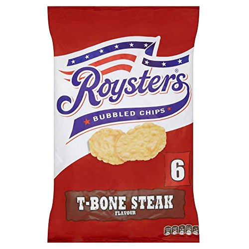Roysters Chips - T- Bone Steak (6x28g)