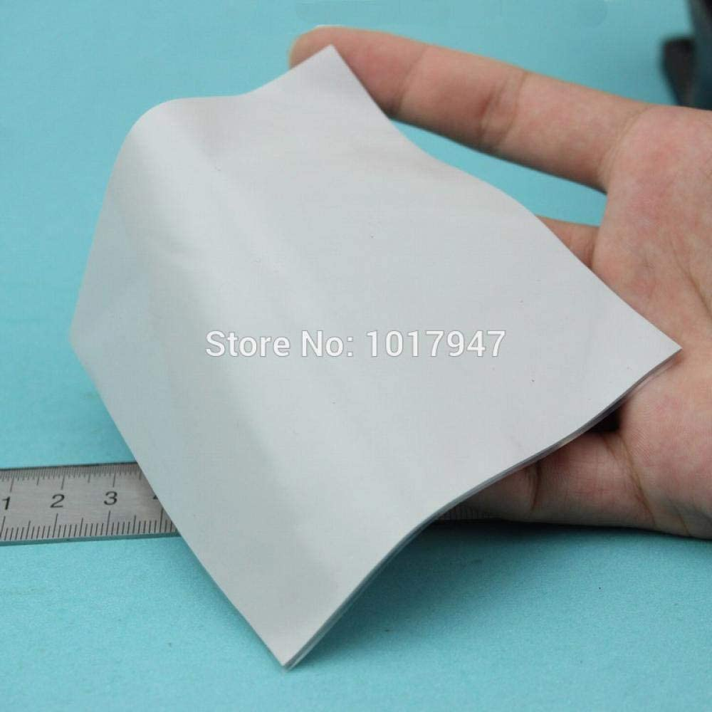 1 Pieces 100X100x2MM 2MM Thickness IC Chip GPU White Silicone Conductive Compounds Thermal Pad