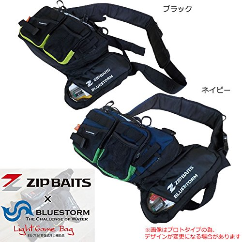 ジップベイツ×ブルーストーム オリジナル ライトゲームバック BSJ-7120の商品画像