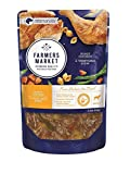 Farmers Market Pet Food Premium Natural Wet Dog Food Pouch, 5.3 oz, Roast Chicken & Vegetables (Case of 24)