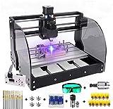 2 in 1 5500mW Engraver CNC 3018 Pro-M Engraving