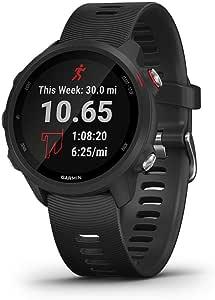Garmin Forerunner 245 Music, GPS Running Smartwatch with Music and Advanced Dynamics, Black (Renewed)