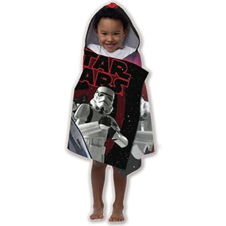 Disney Star Wars para niños con capucha toalla de playa/piscina/baño Wrap