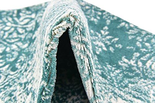 Unique Loom Sofia Collection Turquoise 4 x 6 Area Rug (4' x 6')