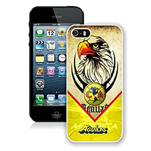 Club America 2 White For iPhone 5S Case Genuine and Cool Design