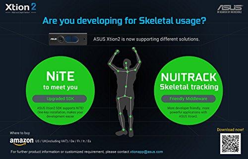 ASUS Xtion2, 3D sensor, 640 x 480 depth resolution, High RGB